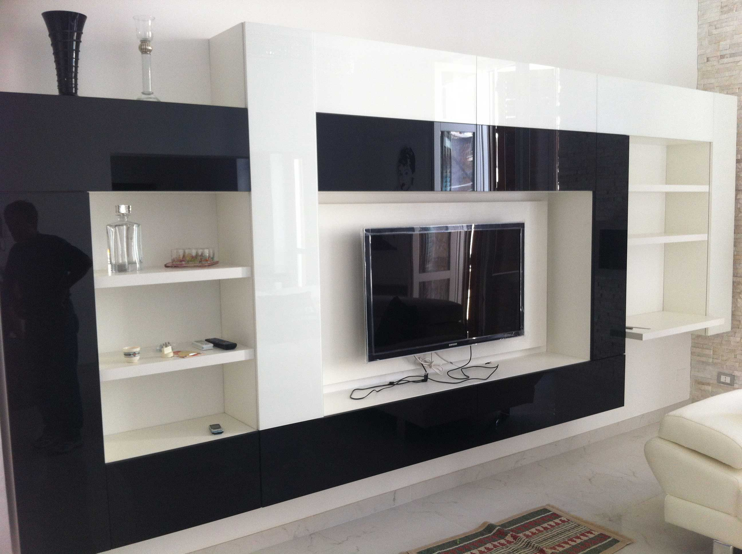 Parete kico living zichichi mobili - Mobili per salone moderni ...