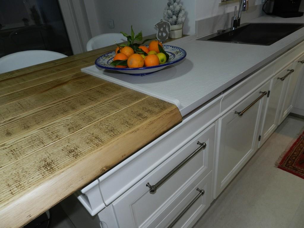Cucina living by l ottocento cucine zichichi mobili - L ottocento mobili ...
